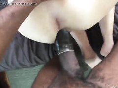 Amateur mom POV blowjob and doggystyle with big black cock