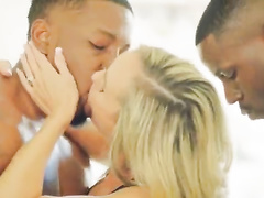 Pale-skinned blondes vs BBC's kissing compilation