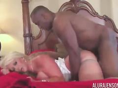 Blond mother Alura Jenson big black cock ir compilation
