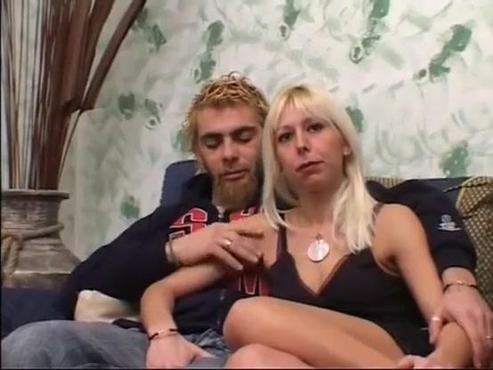 Blonde italian wife cuckold with bearded arab