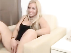 Blonde milf brutally nailed by her black bull's dick