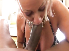 Blonde busty german mature interracial anal