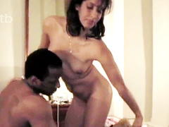 Horny latina wife gets brutally fucked by her black bull in front of husband